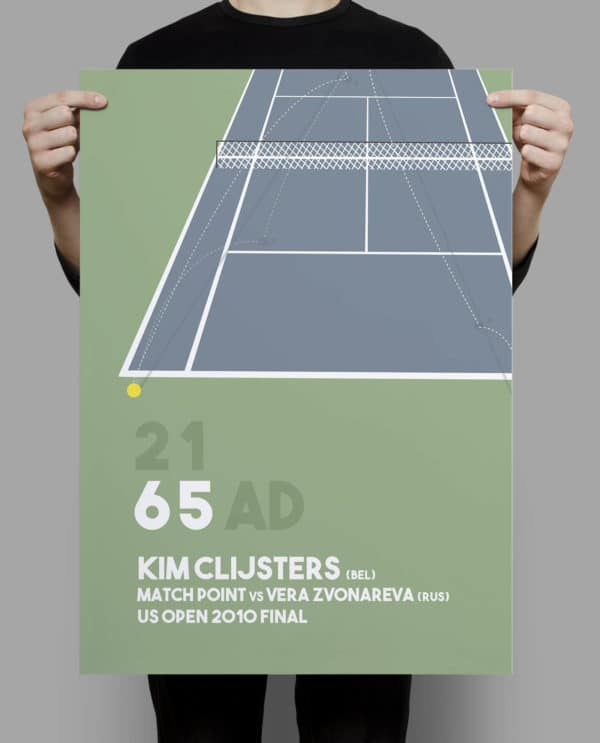 deco tennis kim clijsters