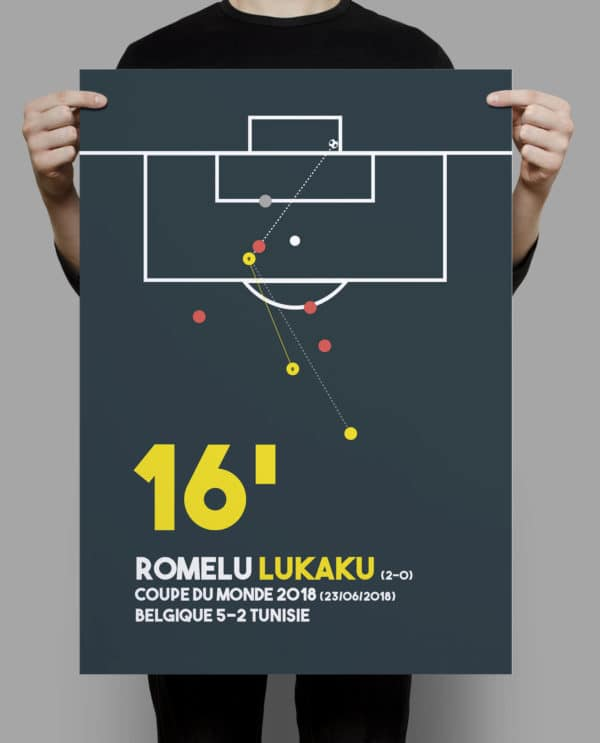 But Romelu Lukaku vs Tunisie