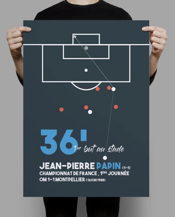 déco football Jean-Pierre Papin